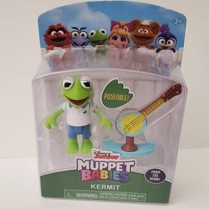 Kermit the Frog Muppet Babies Poseable Figure